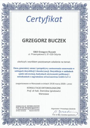 certyfikat ozonowanie-1